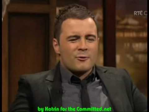 Westlife - Interview [Tubridy Tonight Part 1]