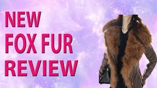 2018 New Women Winter Jacket Luxury Fox Fur Hooded Motorcycle PU Leather Jackets
