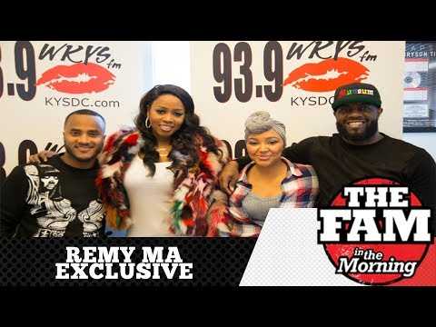"Remy Ma ""Wakes Up"" With The Fam In The Morning"