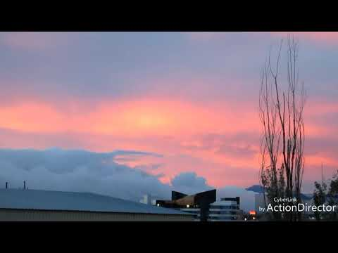 5-14-2018 insane cloudships and real crazy  SunSset
