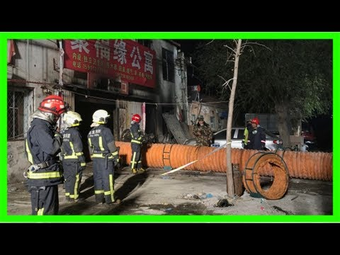 House fire in beijing suburb kills 19 people
