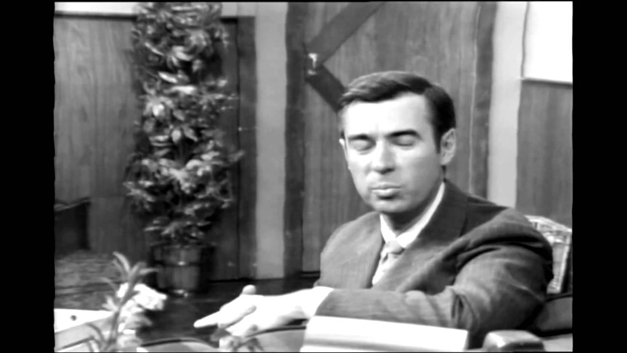 Mr Rogers On Violence Children 1968 Youtube