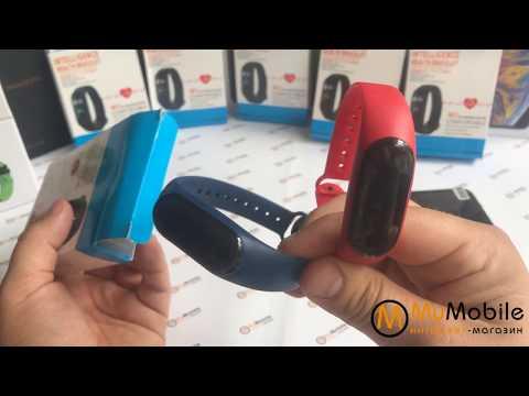 Фитнес браслет, смарт часы - Smart Mi Band M3