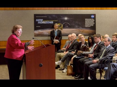 Mikulski Discusses Continued Fight for Space Science at the Applied Physics Laboratory