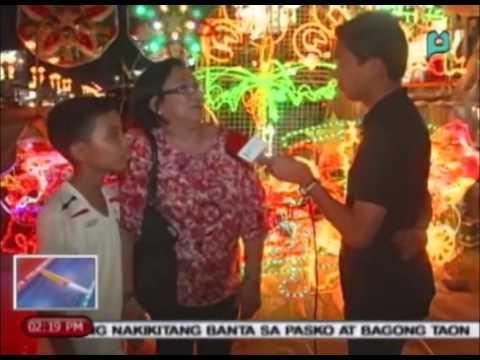 Christmas Capital ng bansa na San Fernando, Pampanga, dinadayo pa rin ng publiko [12/24/14]