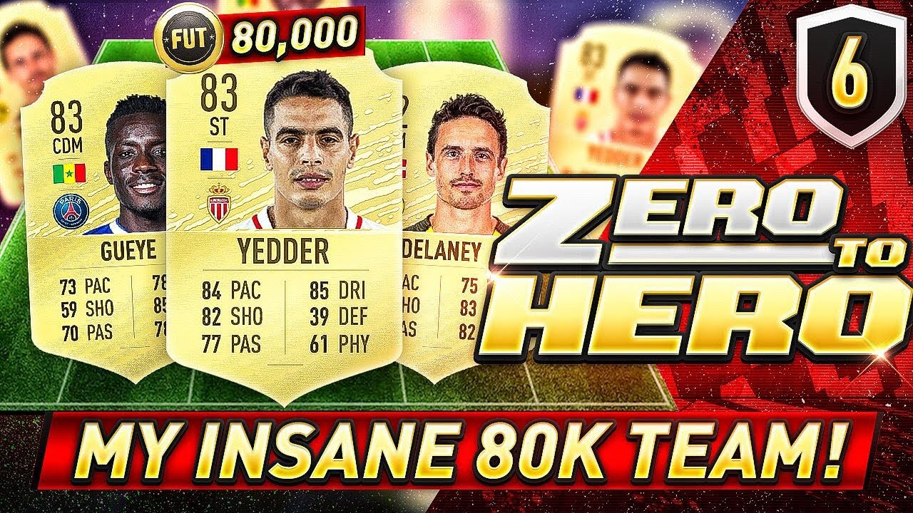 FIFA 20 ZERO TO HERO - INSANE 80K TEAM! Videosu