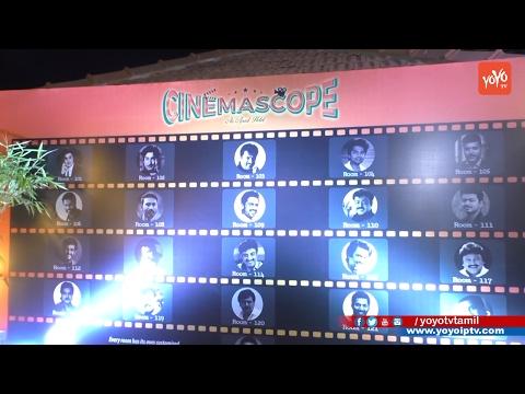 Kollywood Stars Launches CINEMA SCOPE An Apart Hotel   YOYO TV Tamil