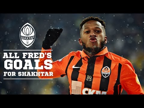 All Goals By Fred For Shakhtar