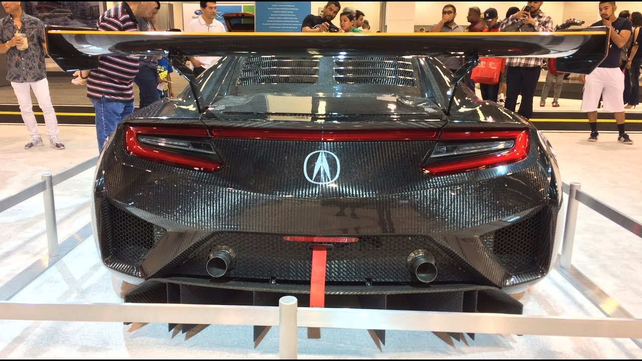 2018 honda nsx gt3. unique nsx 2018 acura nsx gt3 walkarounnd at auto show and honda nsx gt3