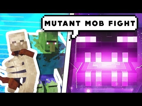 MINECRAFT FIGHTING WITH MUTANT MOB [ HINDI ] || HULK ZOMBIE || Minecraft Mob Battles