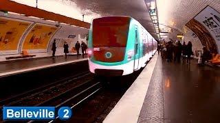 Métro de Paris : Belleville | Ligne 2 ( RATP MF01 )