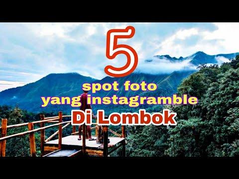 5 spot foto hits instagramble di Lombok