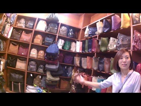 Walk in Fake Bag & Electronics Market Shanghai China