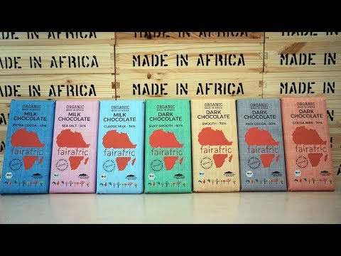 fairafric - Chocolate fully Made in Africa goes Organic