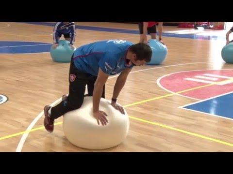 Ukázkový silový trénink (Jan Netscher)