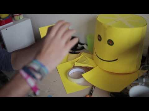 How to make a LEGO MAN costume | For the cheap and not so crafty.