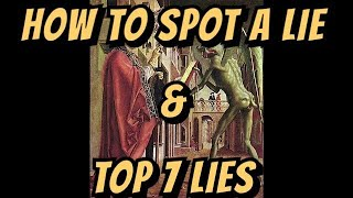 How To Spot A Lie & Top 7 Lies In Recent History