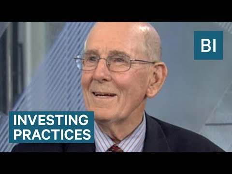 Gary Shilling explains investing practices for the stock market