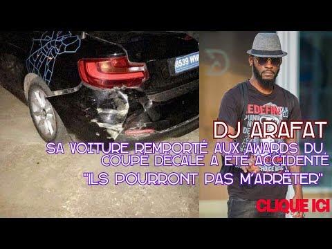 DJ ARAFAT - Sa Voiture Remporté Au Awards Du Coupé Décalé à été Accidenté