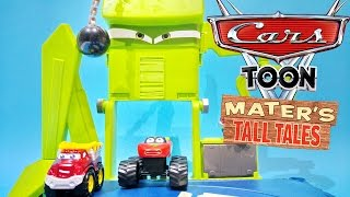 Disney Pixar Cars Toon Monster Truck Wrastlin' Ring Mater's Tall Tales Toys Video Juguetes de Cars(Toys For Kids Worldwide presents : Disney Pixar Cars Toon Monster Truck Wrastlin' Ring Mater's Tall Tales Toys Video Juguetes de Cars!, 2015-12-15T17:28:52.000Z)