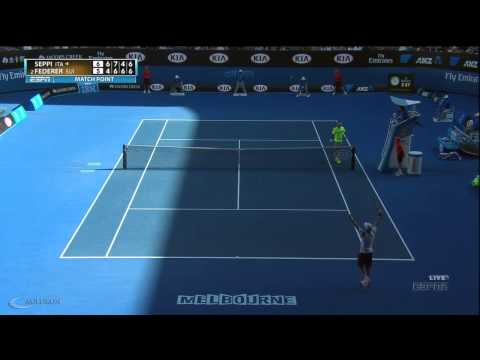 Seppi's Winner On Federer