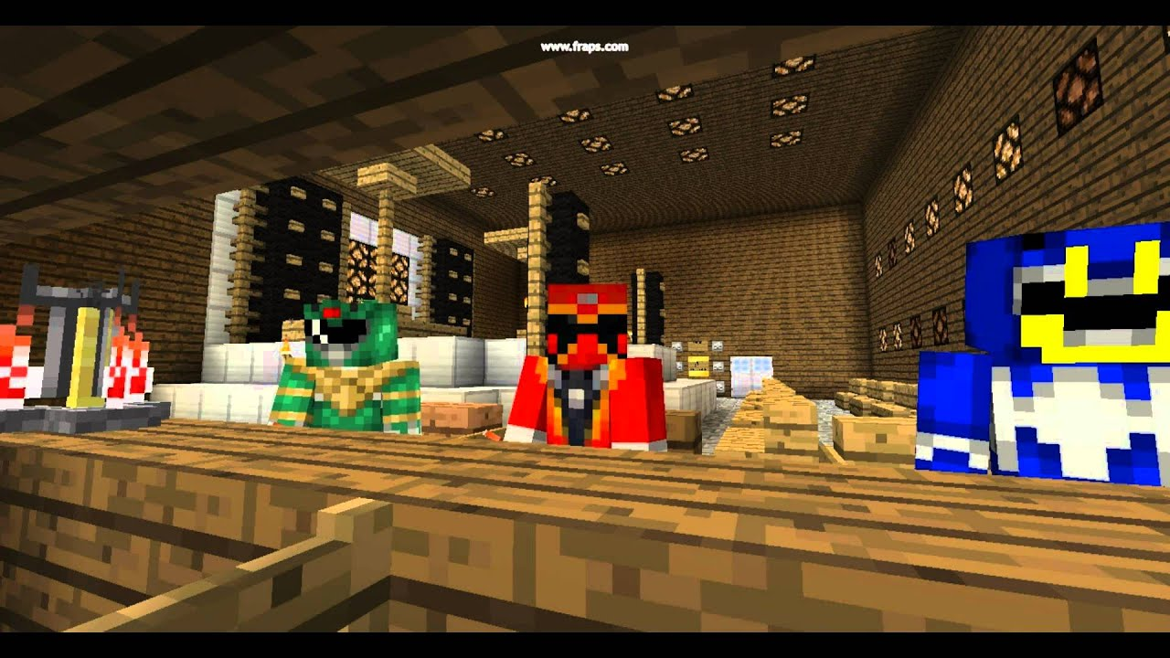 Power Ranger Minecraft PowerCraft Fusion Update YouTube
