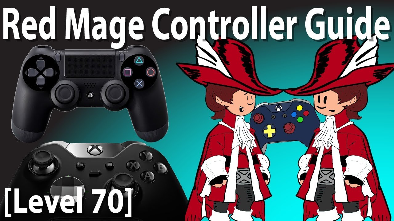 FFXIV Red Mage Controller and Macro Guide [Level 70]