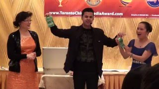 Toronto Chinese Media Award 20150123- Magical Performance by Raman