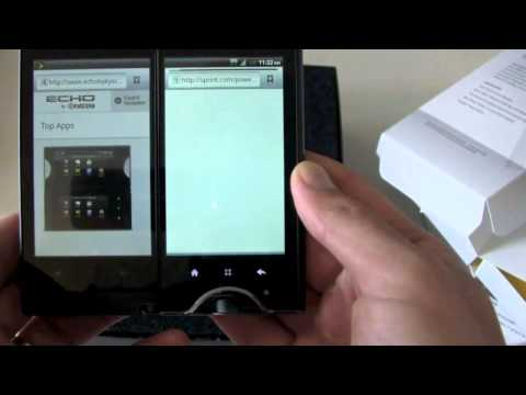 Sprint Kyocera Echo Unboxing!