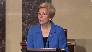 WATCH: Mitch McConnell BANS Elizabeth Warren From Speaking