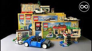 5 Amazing LEGO Creator MOC models!