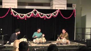 Tabla Trio: Shamsher Singh, Nishad Parmar, and Ajit Deshmukh 9/14/13