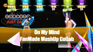 Video Just Dance Unlimited - On My Mind   Ellie Goulding   FanMade Mashup Collab   With ZombieSim100 download MP3, 3GP, MP4, WEBM, AVI, FLV Desember 2017