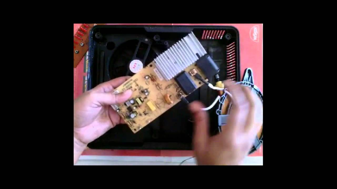 Bajaj Induction Stove Tear Down Dvd Rip Youtube Cooker Circuit Board Pcb