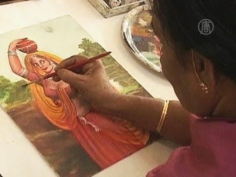 знакомство ей с живописью