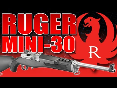 Ruger Mini Thirty 30 - First Shots Fired