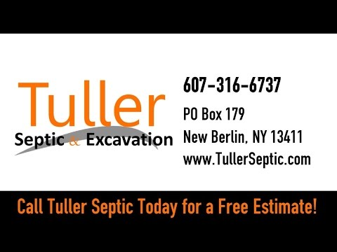Tuller Septic & Excavation | New Berlin NY Excavation Contractors