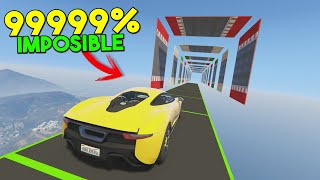 CARRERA 99999% IMPOSIBLE! SOLO PARA PROS!! - GTA V ONLINE