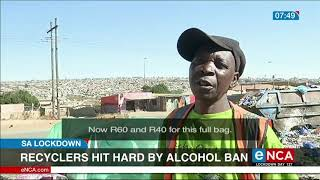 Recyclers hit hard by alcohol ban