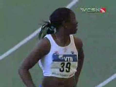 Perry wins 100 meter hurdles
