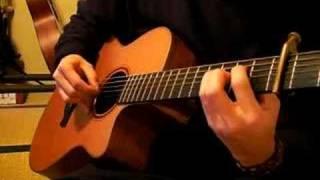 南澤大介さんのソロギターのしらべより タイトルどおりオープニング・クレジットの部分で流れている曲です。