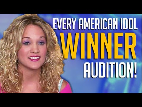 Every American Idol Winner Audition From Kelly Clarkson To Now - Who's Your Favorite?
