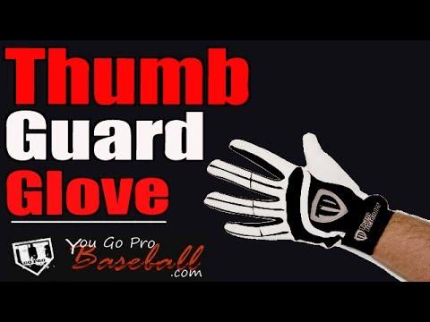 Dennie Robinson on The Team Defender Catcher's Thumb Guard Glove