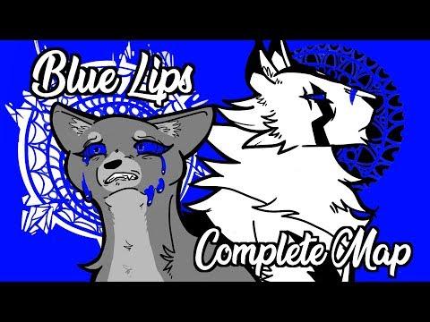 Blue Lips | Complete 72 Hour Blue Eyes White Tigerstar AU MAP