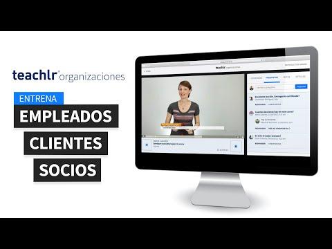 Mejor entrenamiento online con Teachlr Organizaciones.
