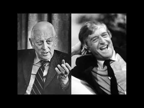 Alistair Cooke with Michael Parkinson