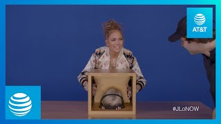 Jennifer Lopez & David Dobrik FEAR BOX Challenge | #JLoNOW | AT&T
