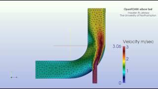 Heat transfer analysis in pipe bend using open foam cfd