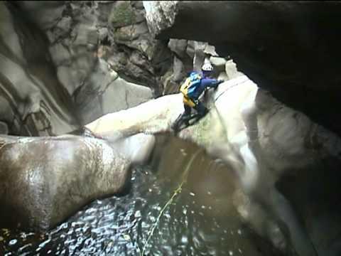 Canyoning 214 Devero med  (Piemonte, Verbania) 2003
