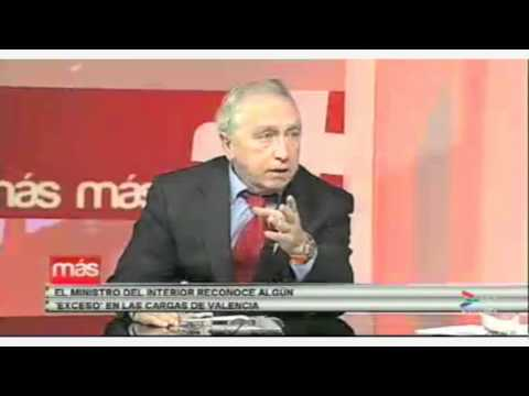 Javier Álvarez en Canal 6 sobre las cargas policiales en Valencia